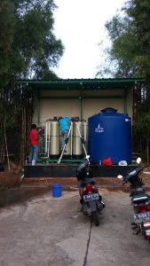 Pemasangan Filter Air Laundry